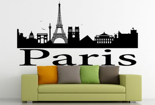 Párizs város falmatrica 4