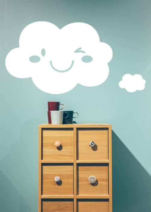 smile felhő falmatrica 3