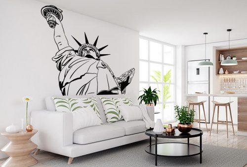 szabadság szobor new york város falmatrica 1