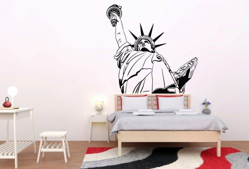 szabadság szobor new york város falmatrica 2