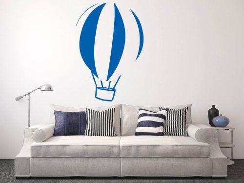 szofisztikált hőlégballonos falmatrica 2