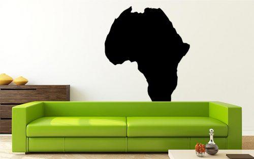 világtérkép falmatrica afrika 2