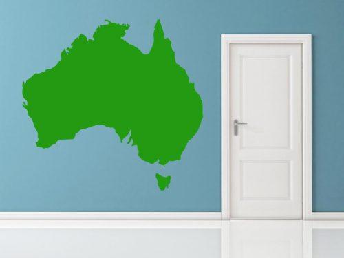 világtérkép falmatrica ausztralia 2