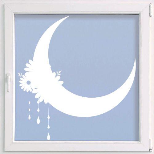 virágos ablakmatrica hold