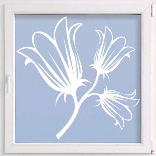 virágos ablakmatrica hóvirág