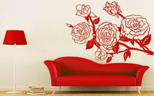 virágos falmatrica rózsa 2 2