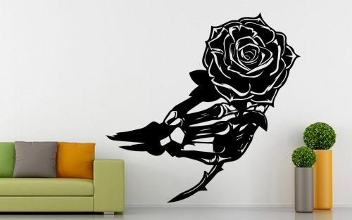 virágos falmatrica rózsa csontváz 1